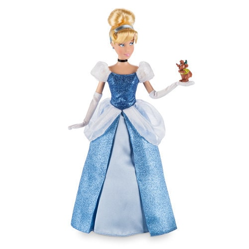 Cinderella Classic Doll with Gus Figure ? 12''