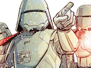 The First Order Strikes Back in Journey to Star Wars: The Rise of Skywalker – Allegiance #1 – Exclusive