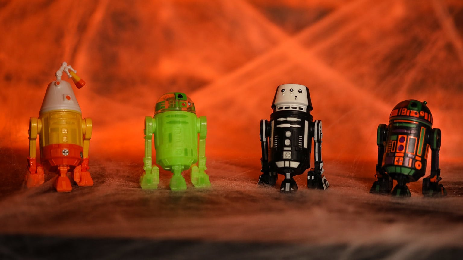 Disney Parks' Halloween-Themed Droids Are Frighteningly Fun
