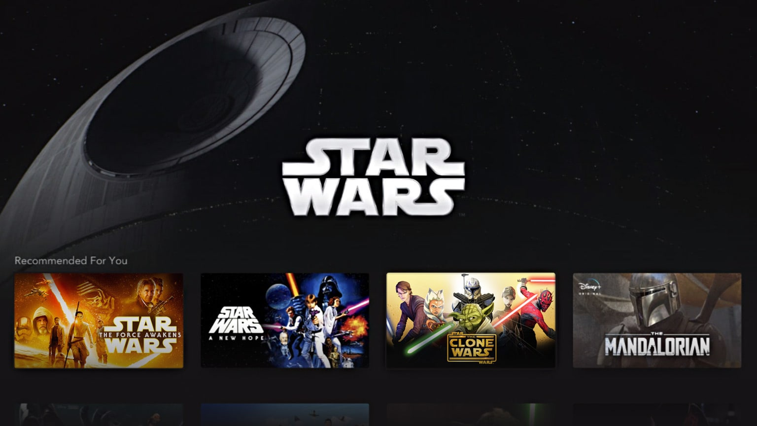 Updated: Here's Everything Star Wars on Disney+