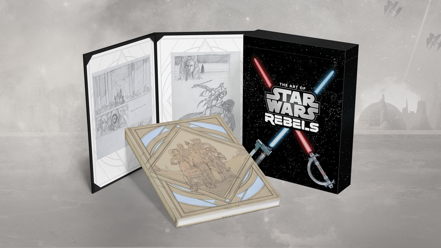 Get a First Look at The Art of Star Wars Rebels Limited Edition