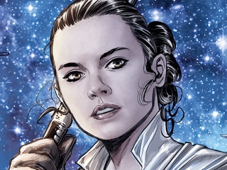 Rey and Rose Chase a Saboteur in  Journey to Star Wars: The Rise of Skywalker — Allegiance #4 – Exclusive
