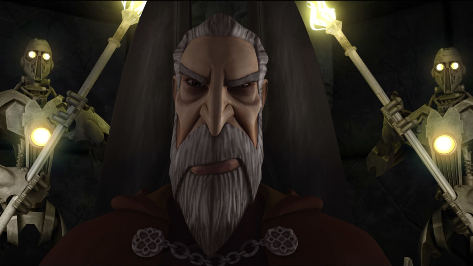 "The Clone Wars Rewatch: Boxed in By the ""Shadow Warrior"""
