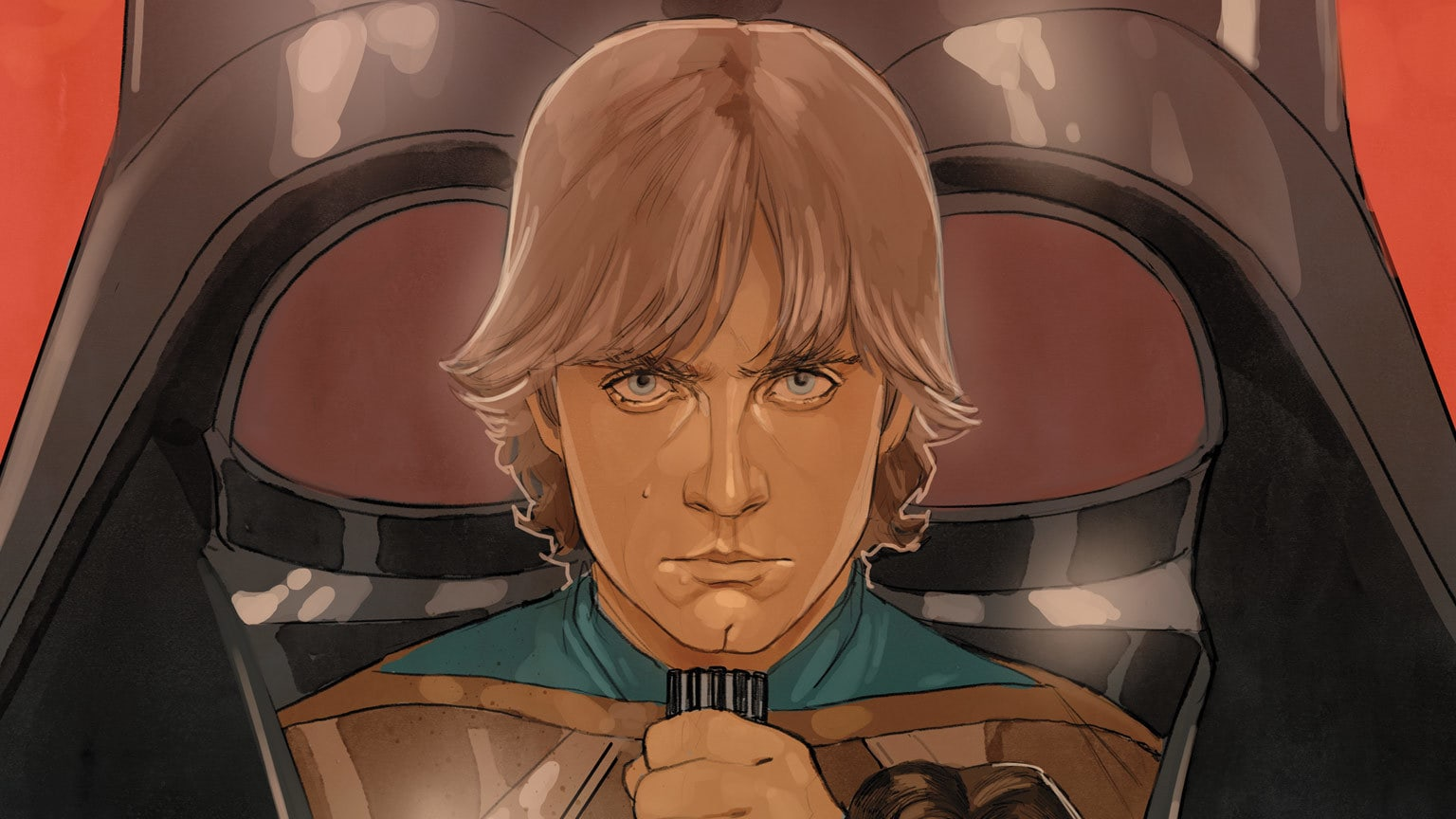 Luke Skywalker Comes Face to Face with Darth Vader in Marvel's Star Wars #75 – Exclusive