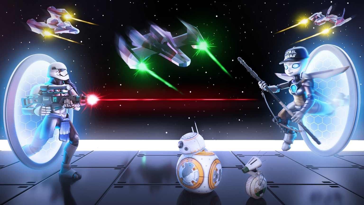 Star Wars and Roblox Join Forces for the Galactic Speedway Creator Challenge