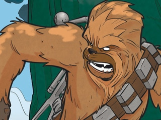 On the Prowl with Chewbacca in Star Wars Adventures #28 – Exclusive