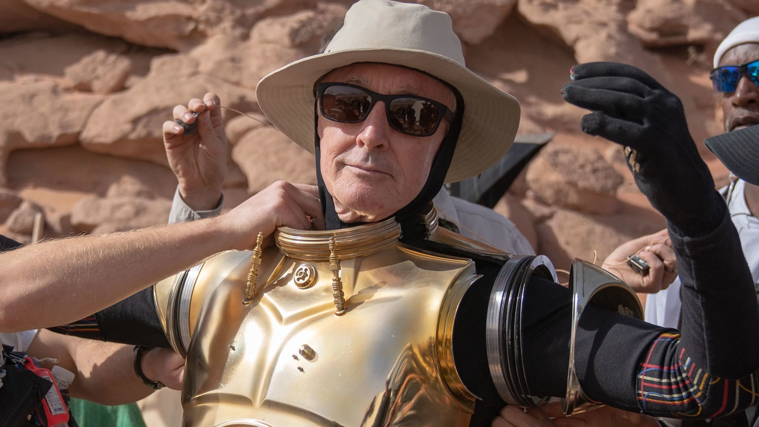 Telling the Odds: Anthony Daniels and his Memoir  I Am C-3PO