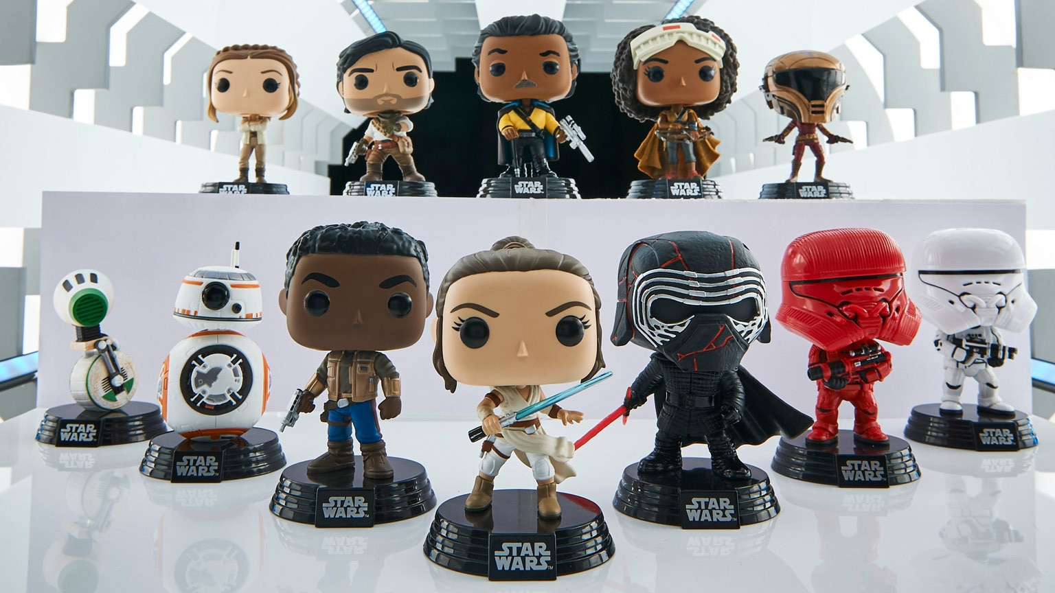 Funko Gives Star Wars: The Rise of Skywalker the Pop! Treatment