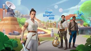 Star Wars Comes to Disney Magic Kingdoms