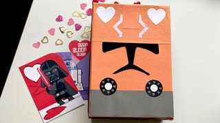 Show Your Love for The Clone Wars with This DIY Valentine Box