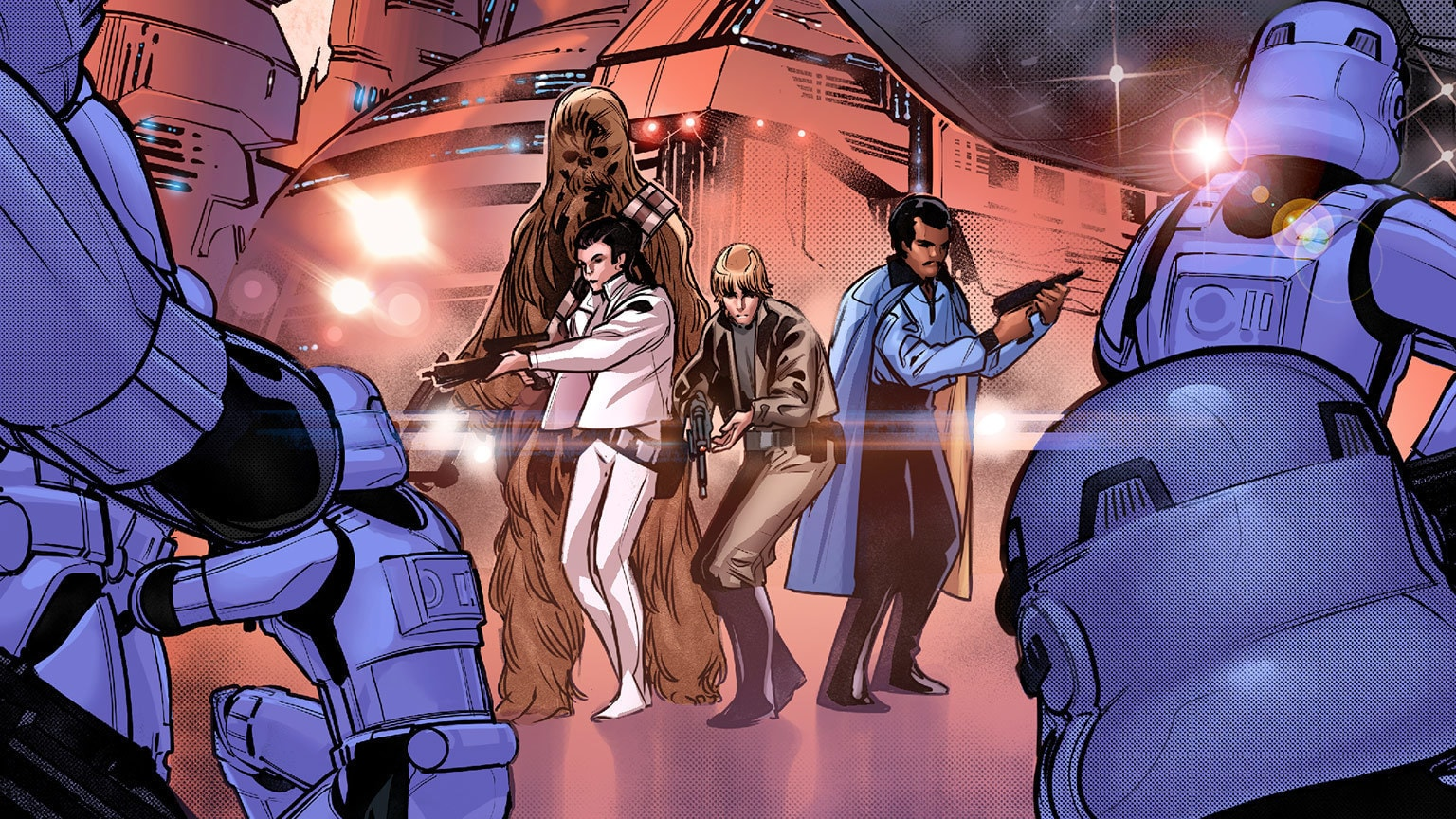 Luke, Leia, and Lando Return to Cloud City in Star Wars #3 – Exclusive