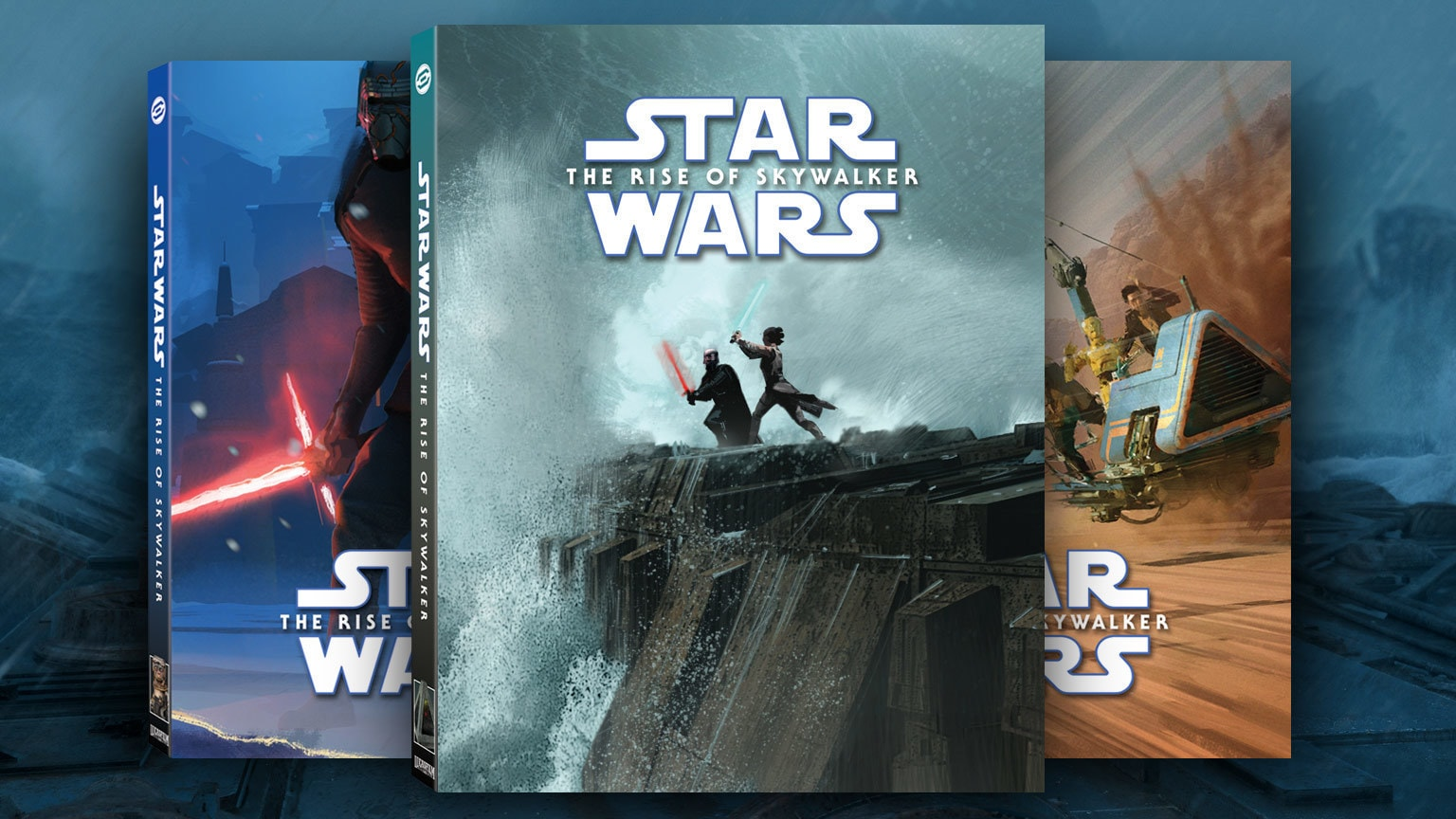 The Rise of Skywalker alt covers