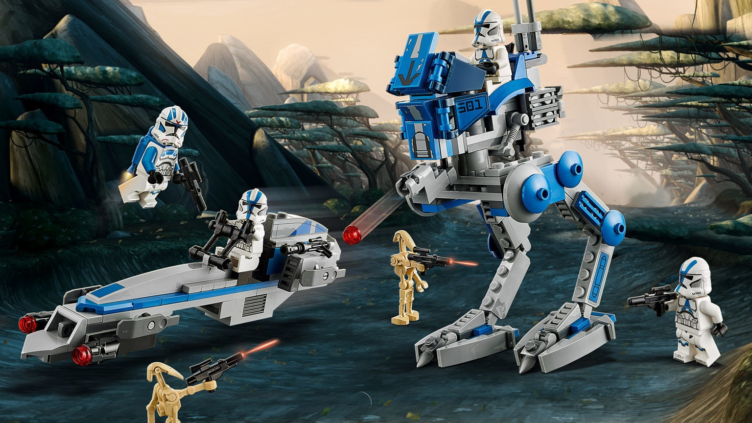 For the Republic! LEGO Unveils Surprise 501st Legion Clone Troopers Set