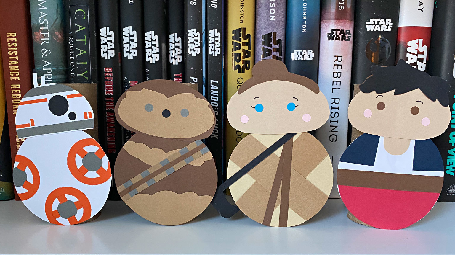 Have a Ball Making Your Own Star Wars Roll Out Characters