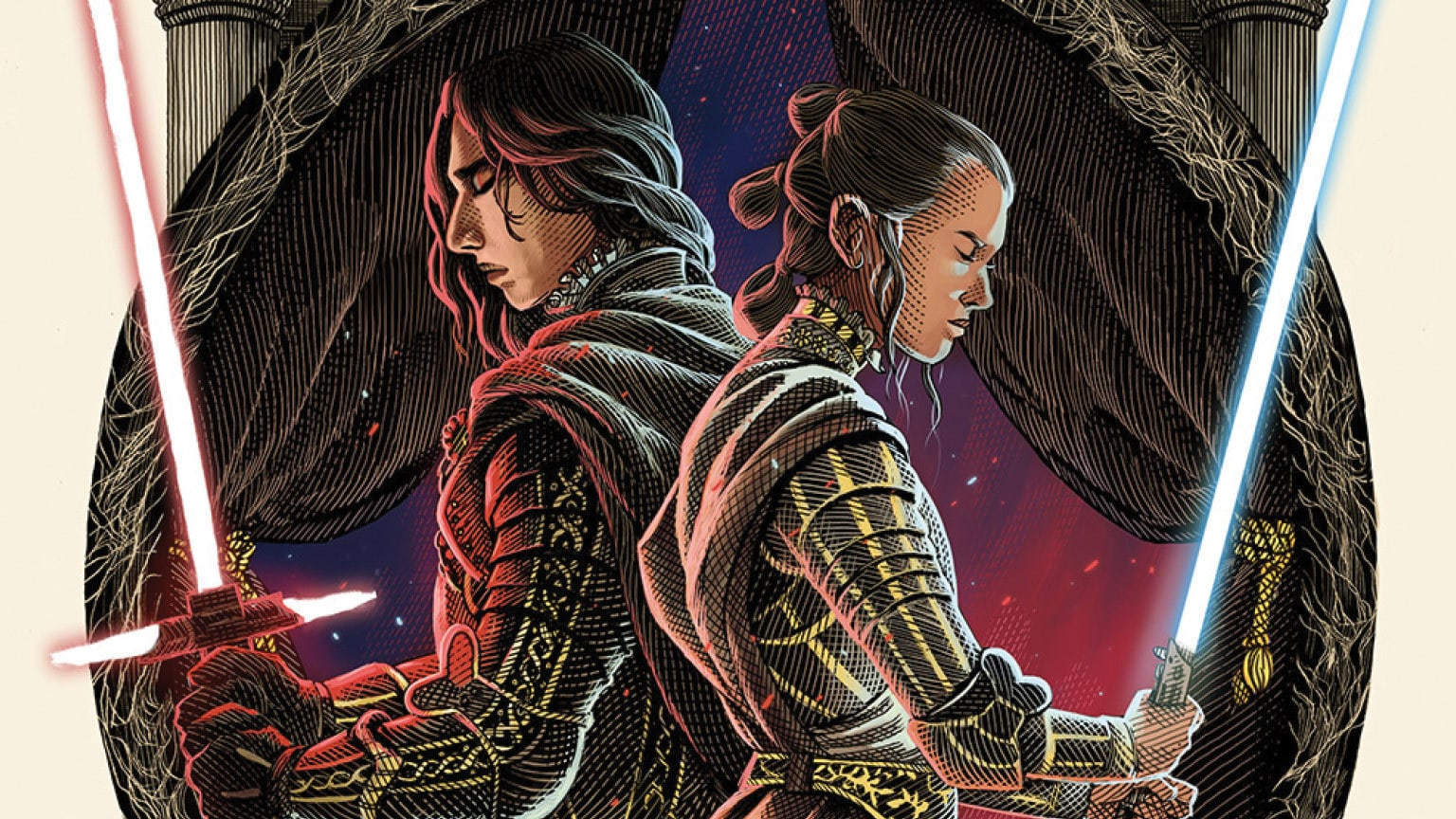Checketh Out the Cover to The Merry Rise of Skywalker