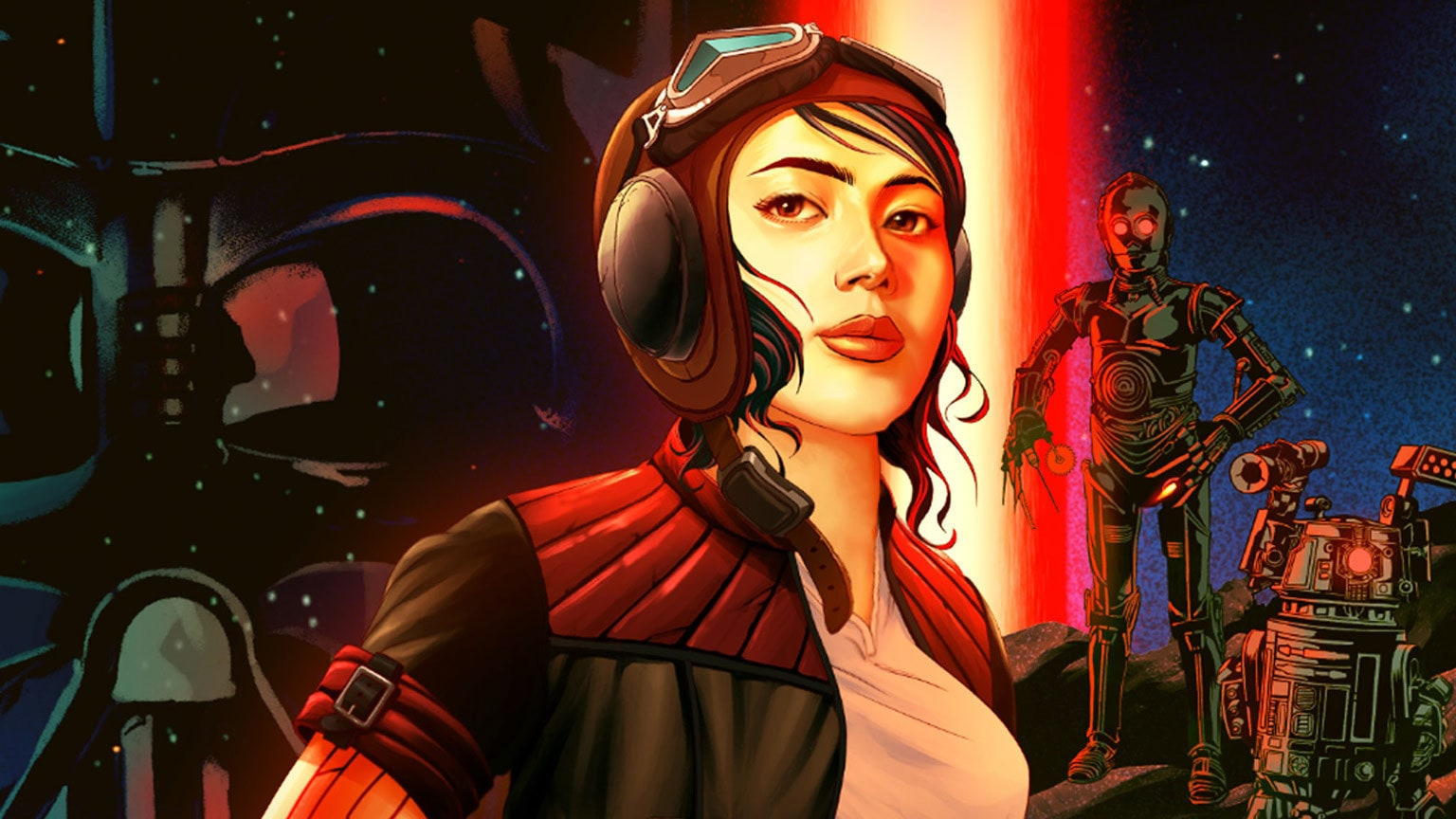 Check Out the Cover of Sarah Kuhn's Doctor Aphra Book – Exclusive