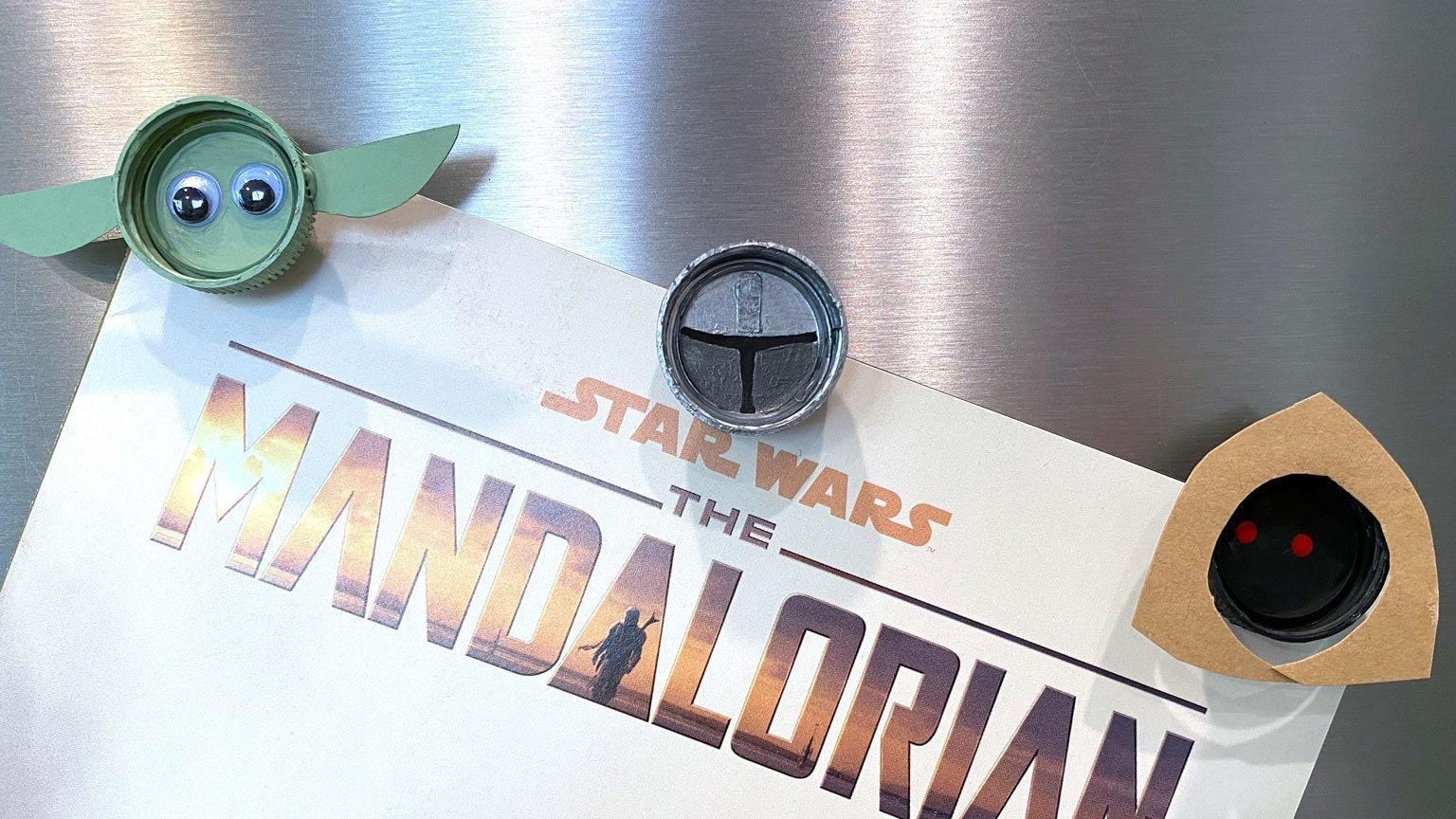 This is the Way to Make Mandalorian Magnets