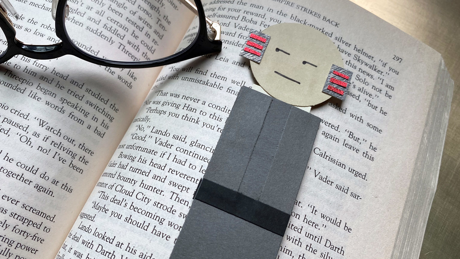 Empire at 40 | Save Your Spot With This DIY Lobot Bookmark