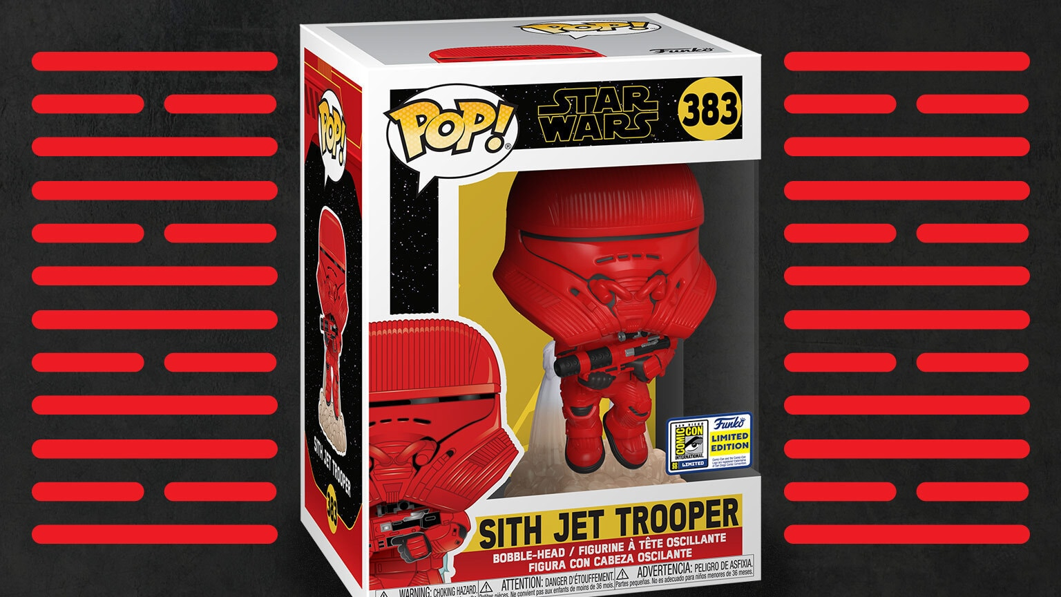 Funko's SDCC-Exclusive Sith Jet Trooper Pop! Ready for Blastoff