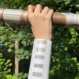 Start Your Own Jedi Temple Challenge with These DIY Padawan Bracers