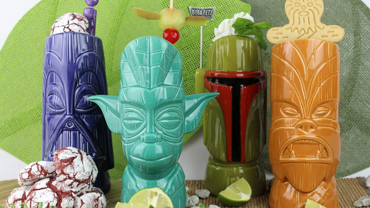Be Cooler Than Carbonite with These Geeki Tikis Star Wars Drink Recipes