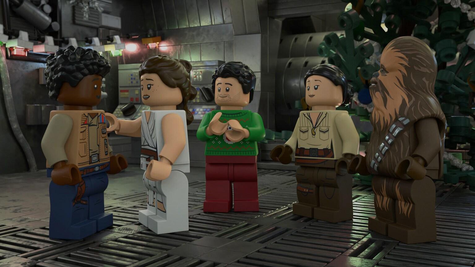 The LEGO Star Wars Holiday Specialto Premiere on Disney+