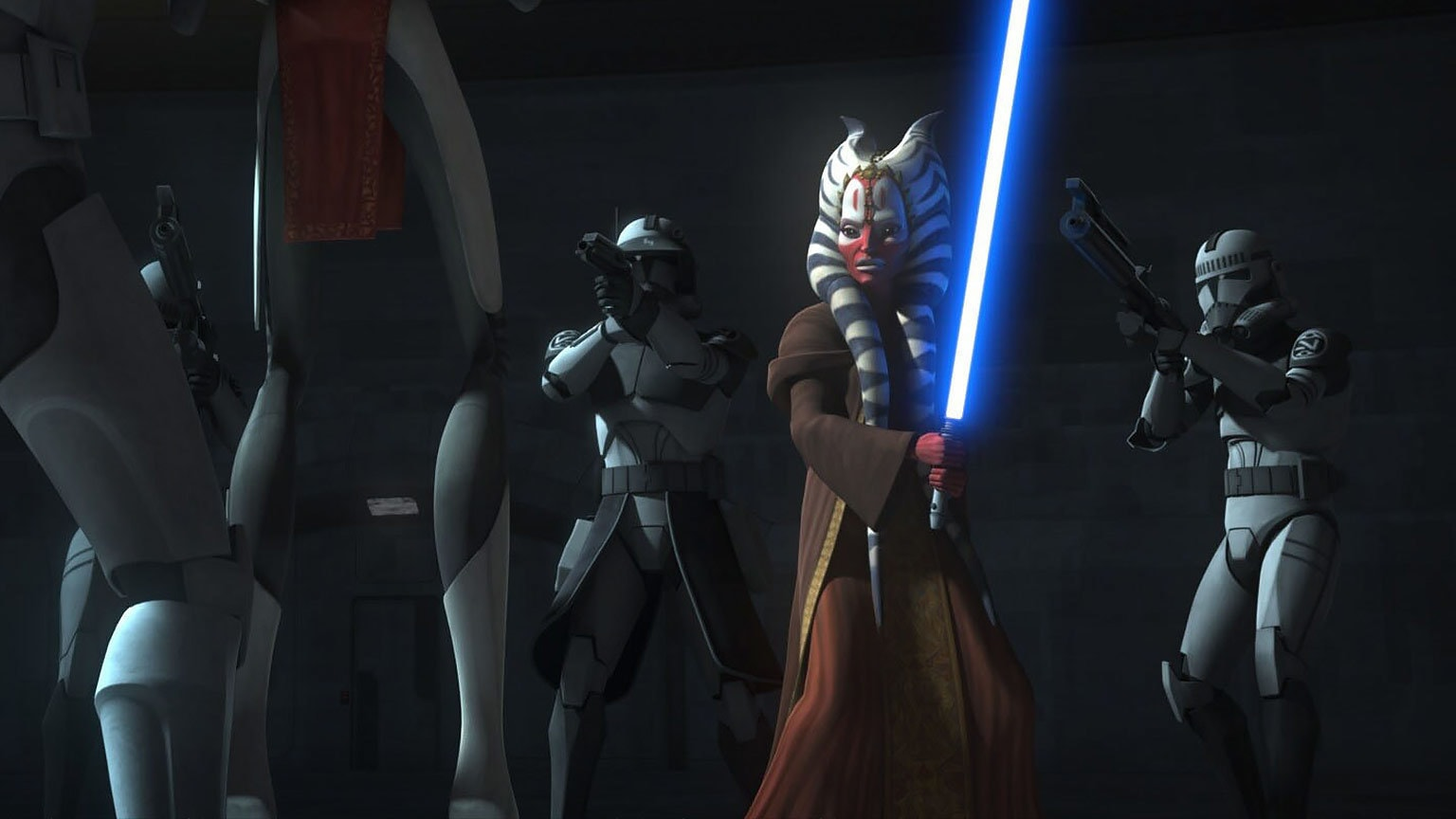 "The Clone Wars Rewatch: Fives the ""Fugitive"""