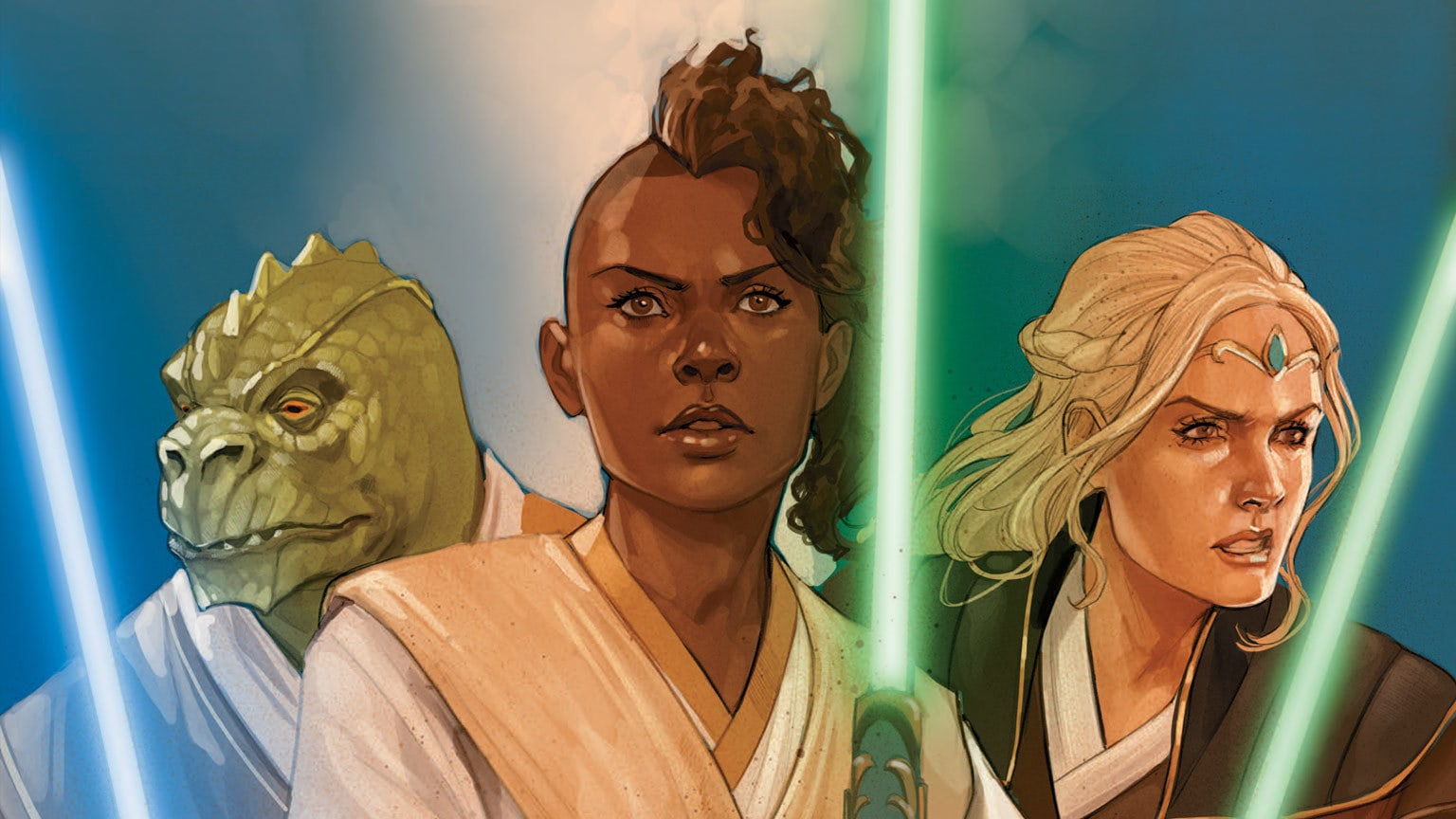 A Padawan Faces the Jedi Trials in Marvel's Star Wars: The High Republic #1 – Exclusive Preview
