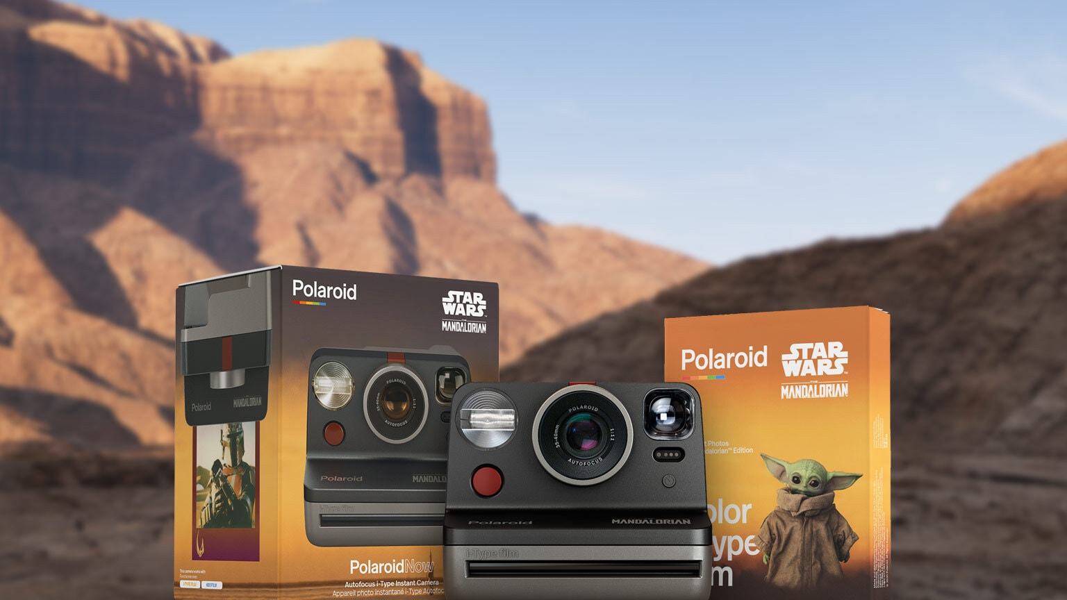 Polaroid's New Camera and Instant Film Capture The Mandalorian