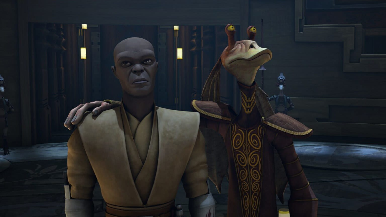 "The Clone Wars Rewatch: Jar Jar and ""The Disappeared"""