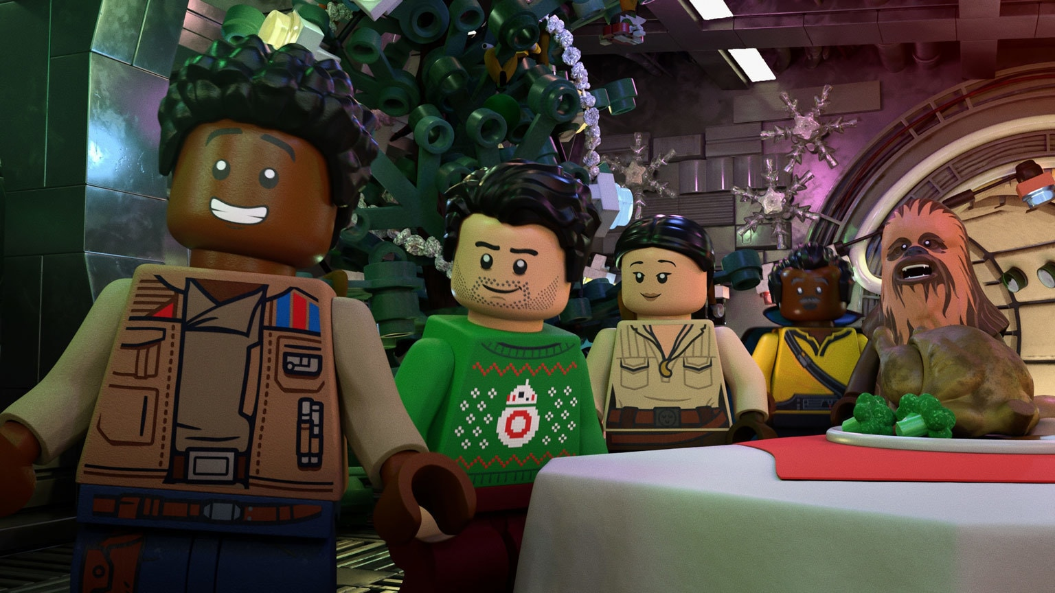 Inside the Heart of The LEGO Star Wars Holiday Special