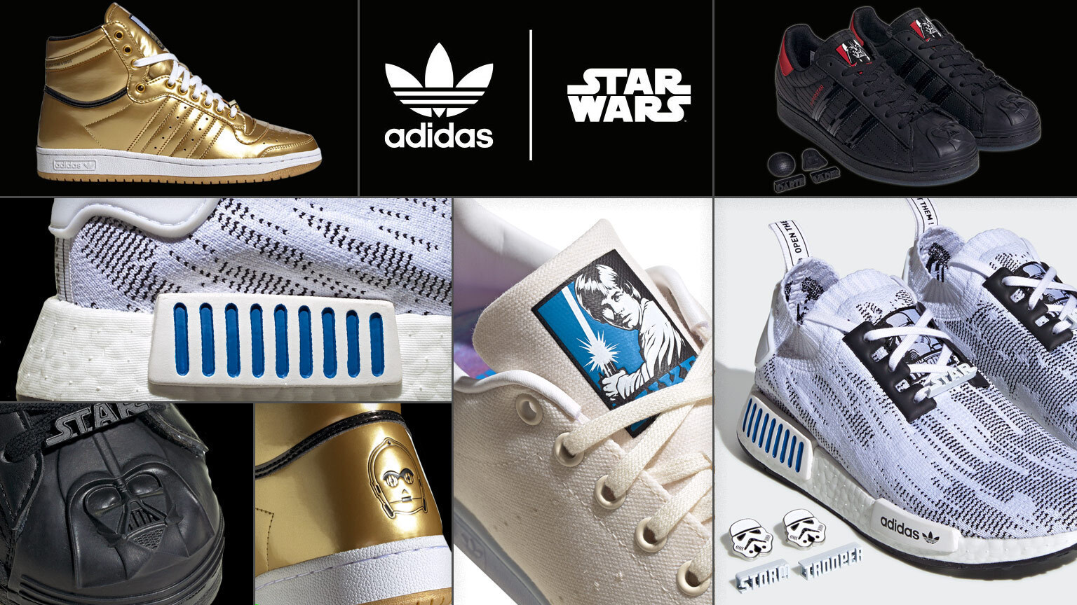 Adidas Brings Star Wars Style to its Sneaker Galaxy