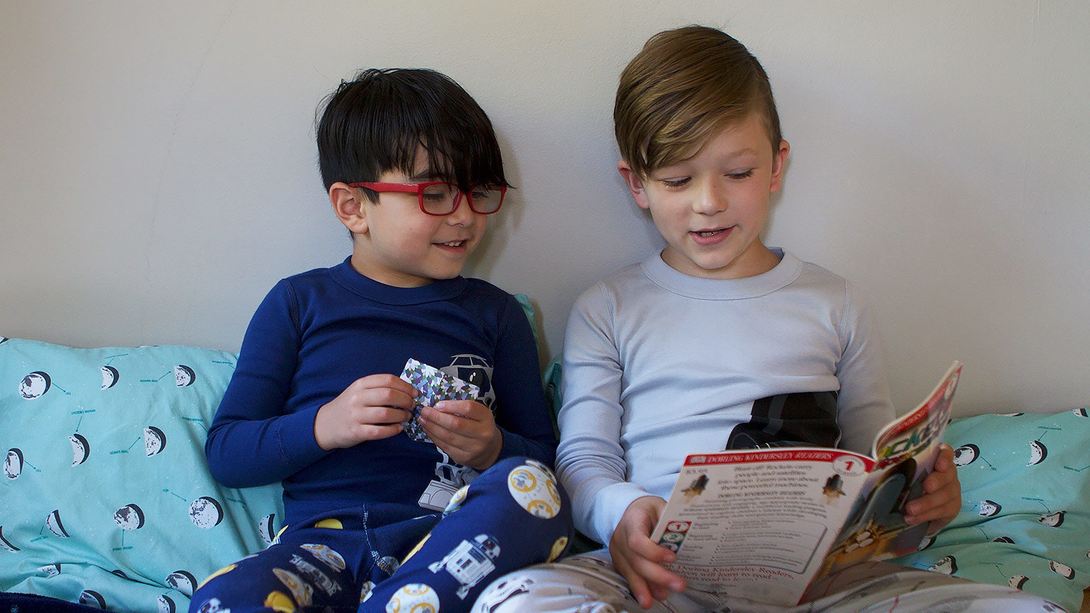 Cozy Up with the Star Wars Block Book and Matching PJs