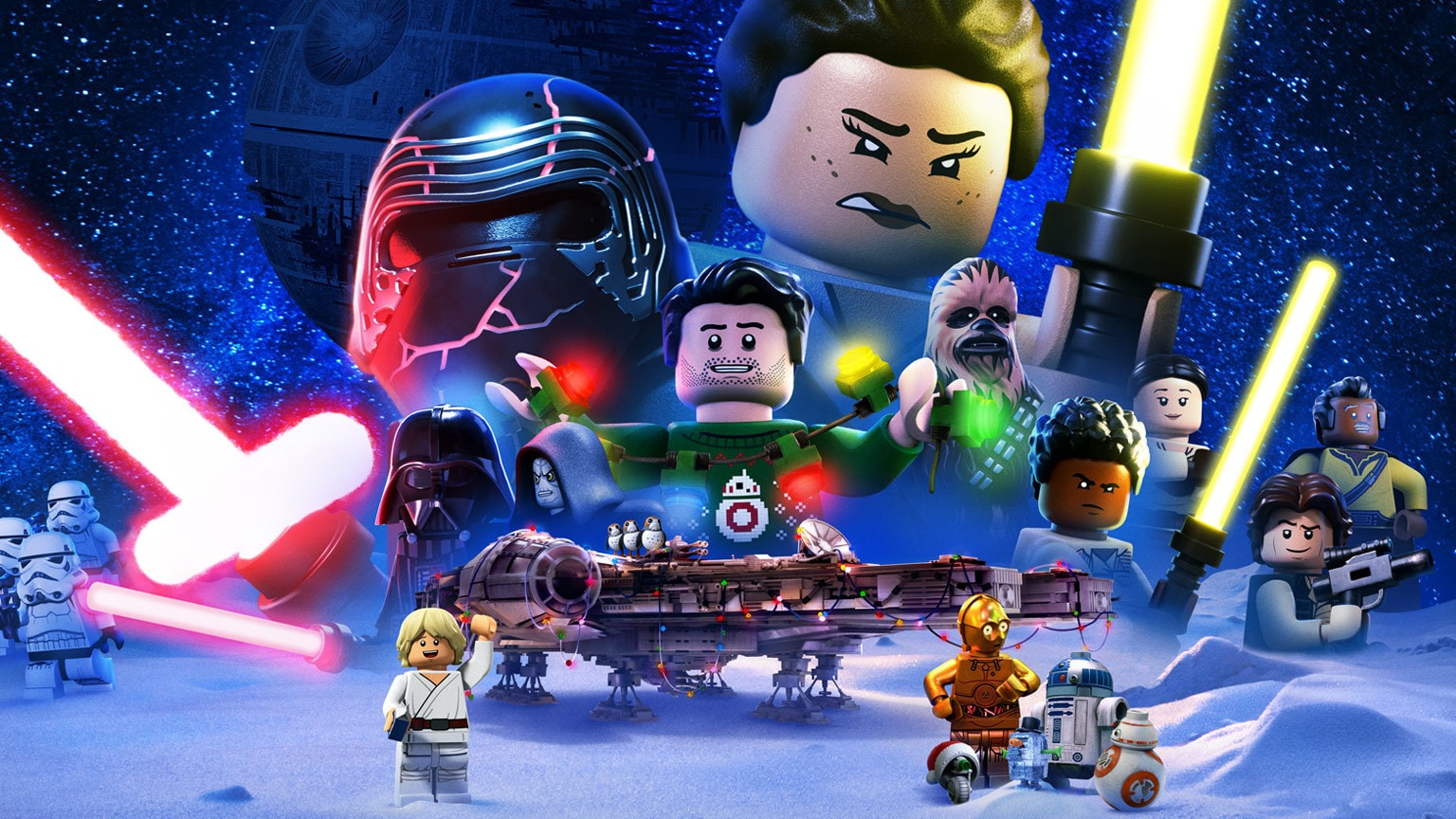 Watch the Bricktastic New Trailer for Disney+'s the LEGO Star Wars Holiday Special