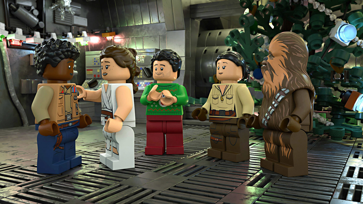The LEGO Star Wars Holiday Special to Premiere on Disney+