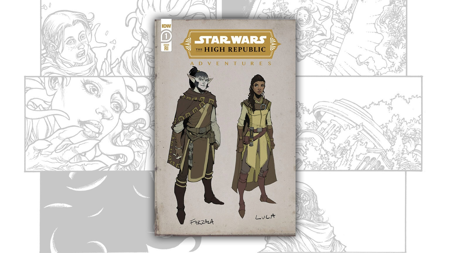 Yoda Returns with Another Lesson in IDW's Star Wars: The High Republic Adventures