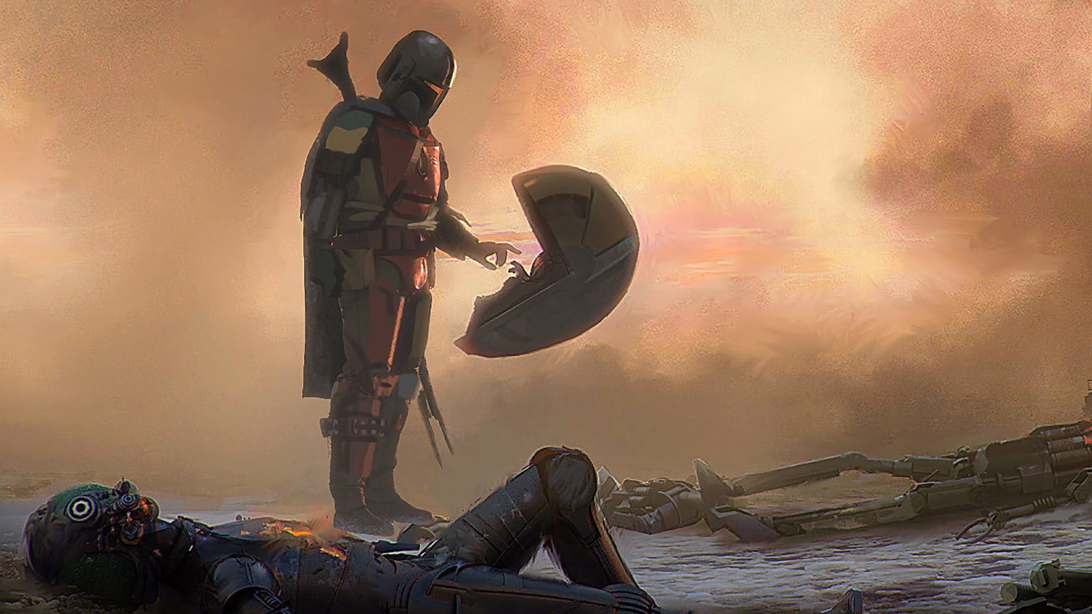 How The Art of The Mandalorian Takes Readers on a Visual Journey of Creativity
