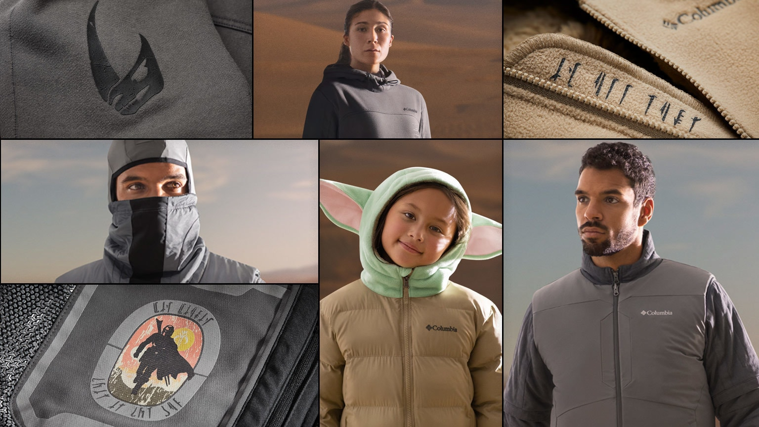 Better Than Beskar: Inside Columbia's New Star Wars Collection Inspired by The Mandalorian
