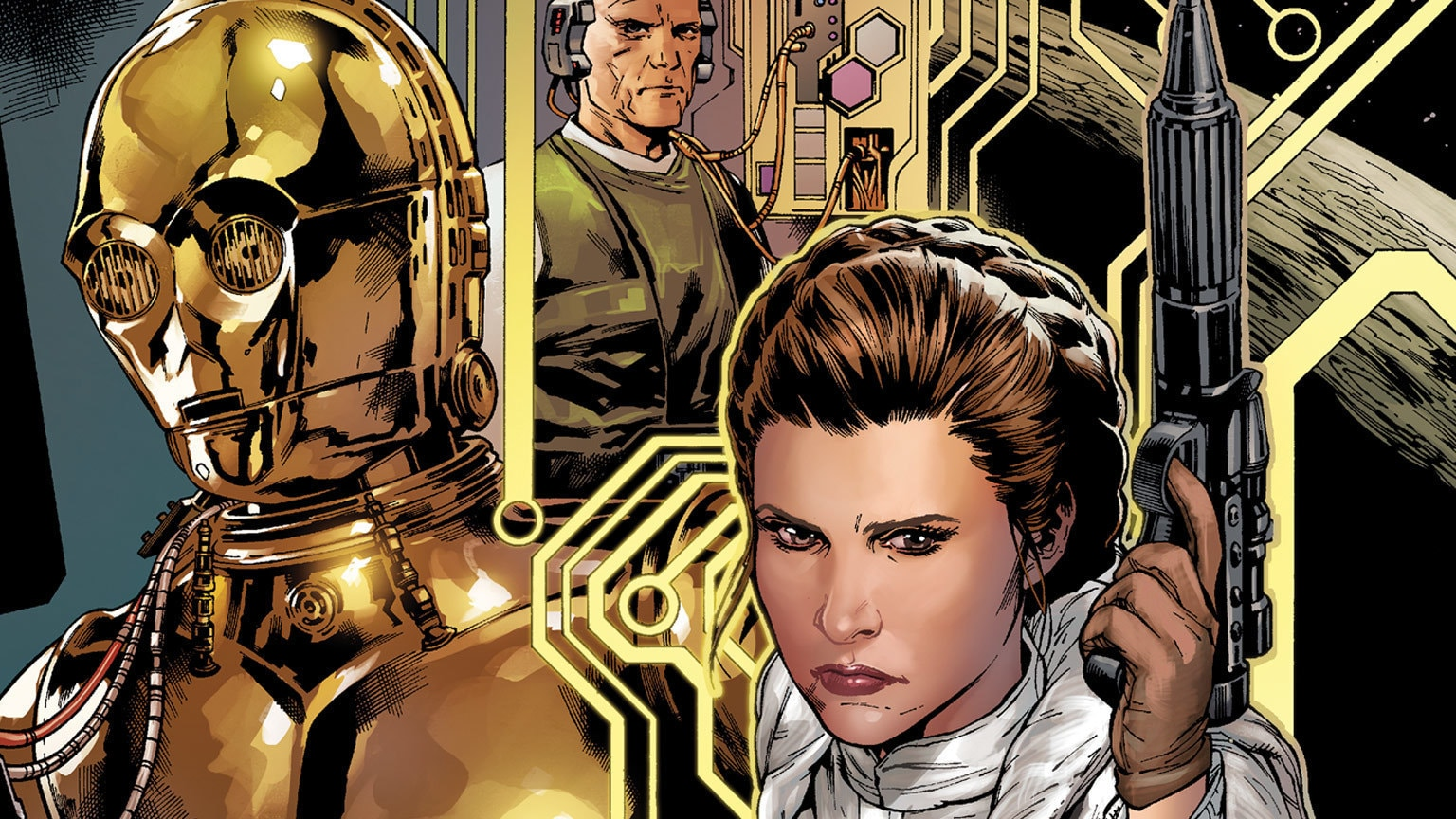 Luke, Leia, and Lando Plan a Heist in Marvel's Star Wars #9 – Exclusive Preview