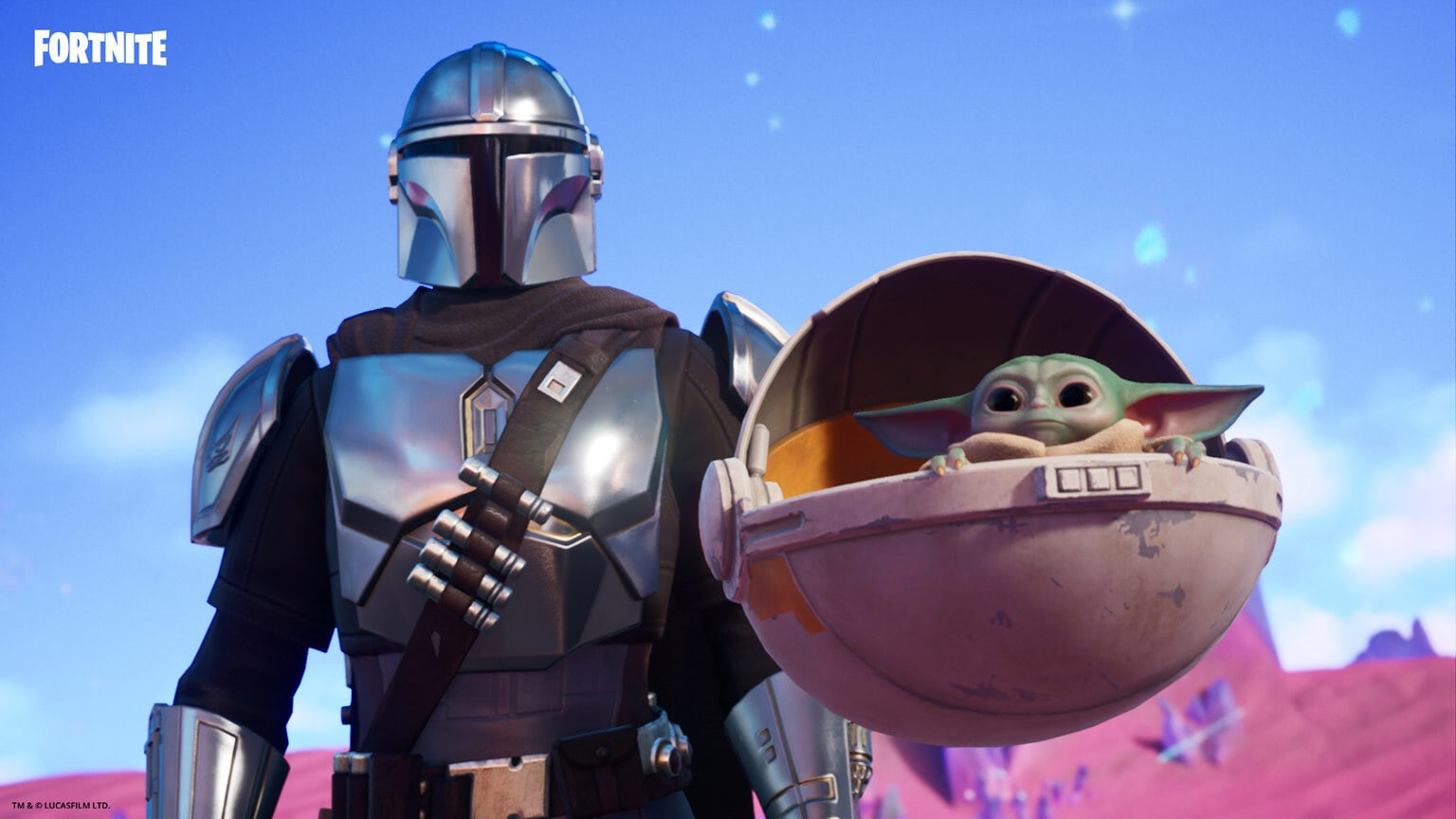 The Mandalorian Joins the Hunt in a New Season of Fortnite