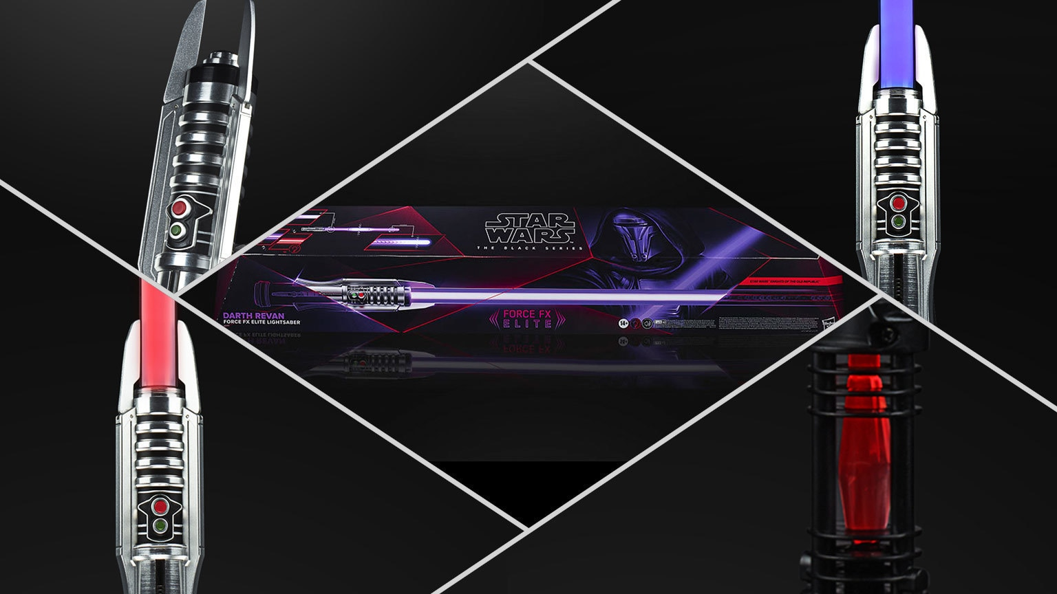How Hasbro Forged the Amazing Darth Revan Force FX Elite Lightsaber