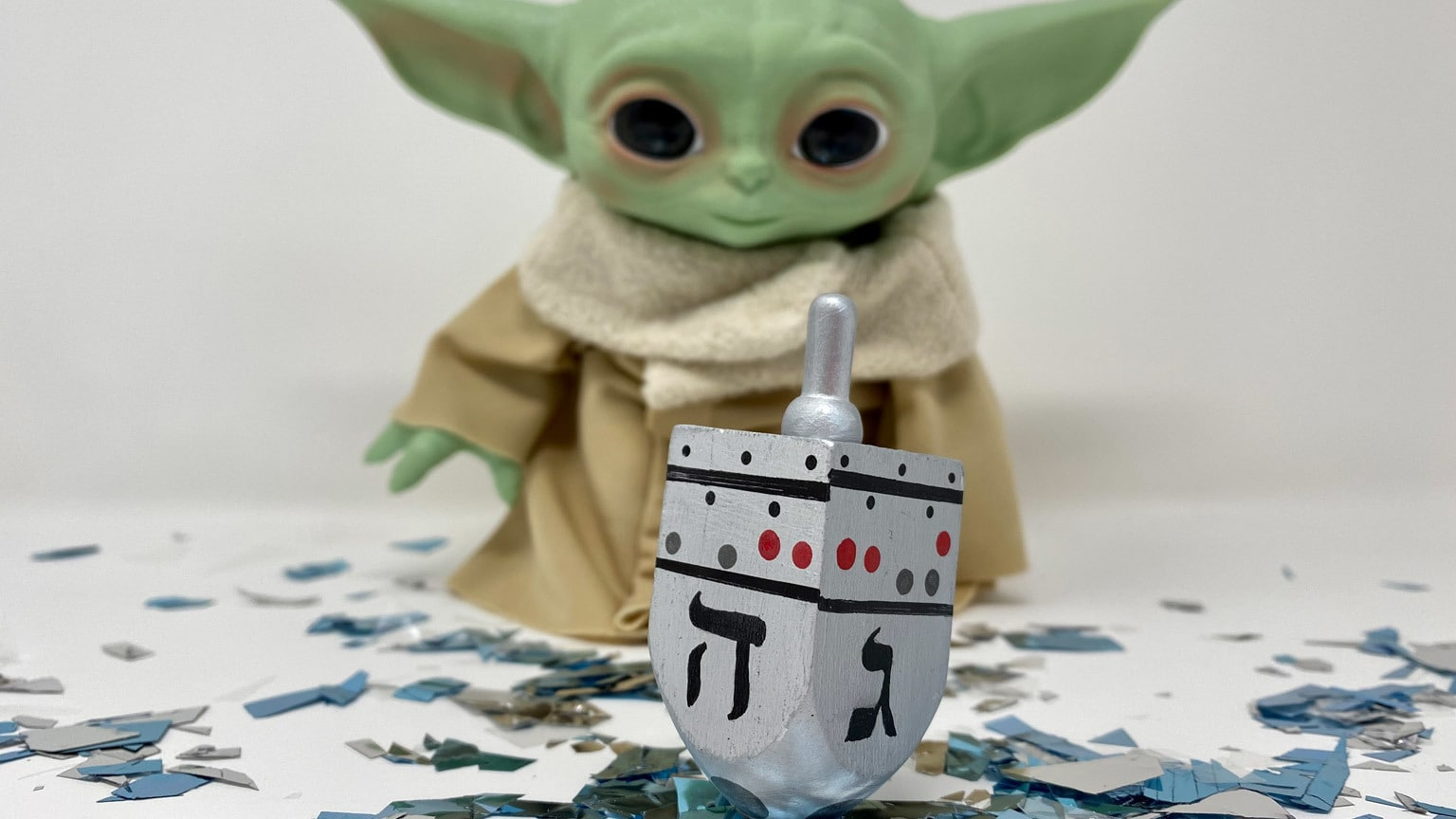 Craft Your Own IG-11 This Hanukkah With a DIY Dreidel