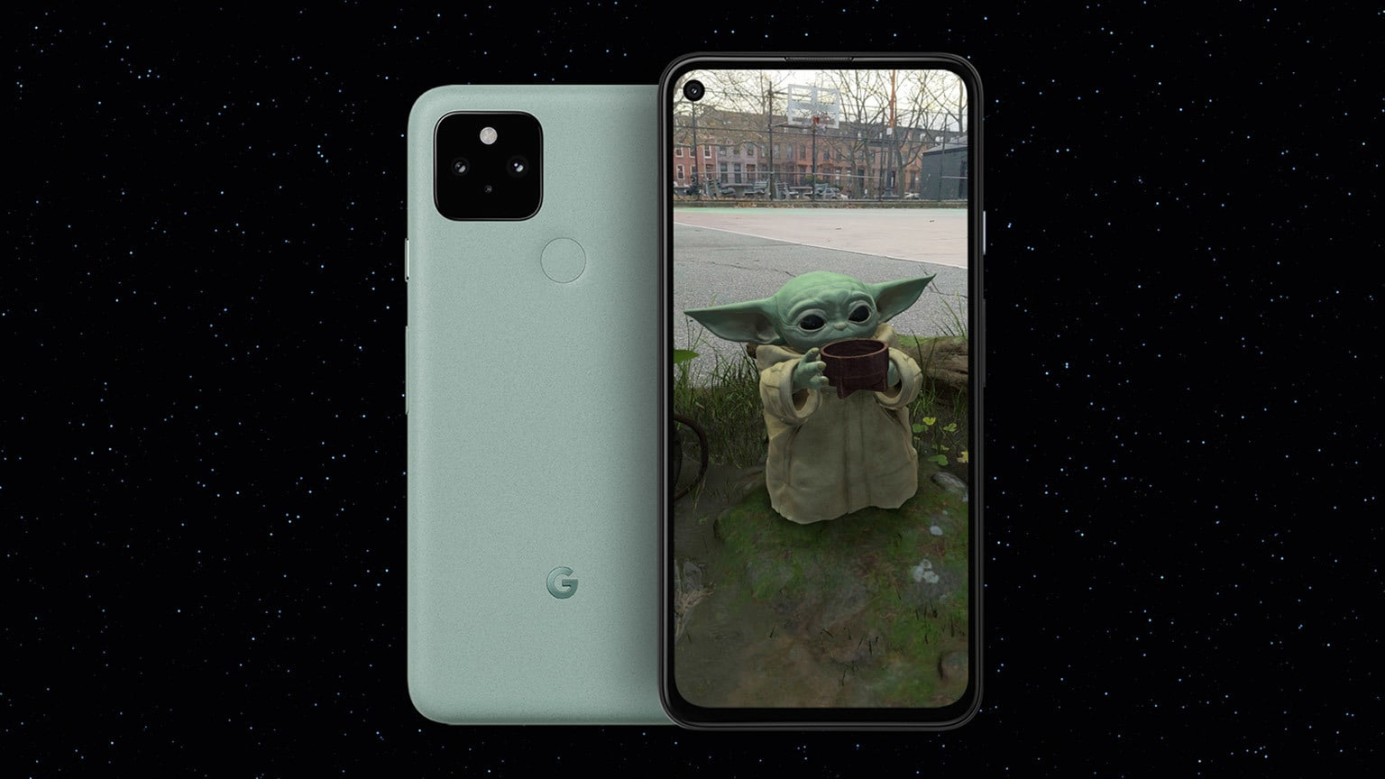 Mando and the Child Come Home (Literally) in New AR Experience App