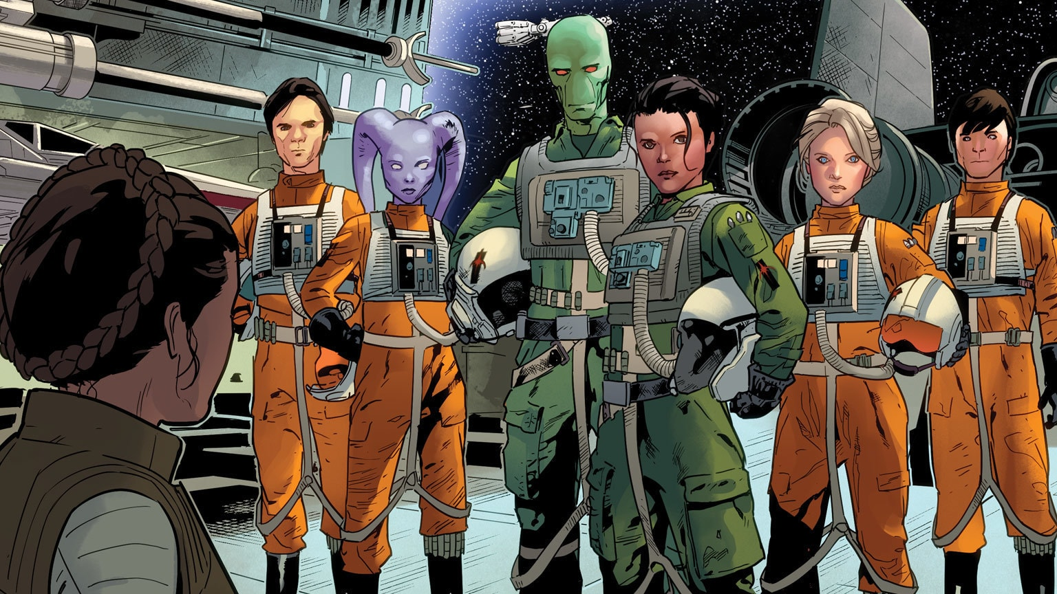 Starlight Squadron Blasts Off in Marvel's Star Wars #10 – Exclusive Preview
