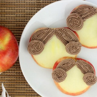 Make Princess Leia Apple Snacks for a Rebellious Treat