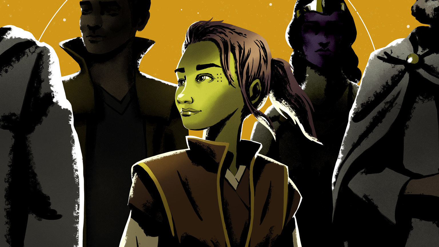 Learn More about the Characters of Star Wars: The High Republic in New Series of Digital Shorts