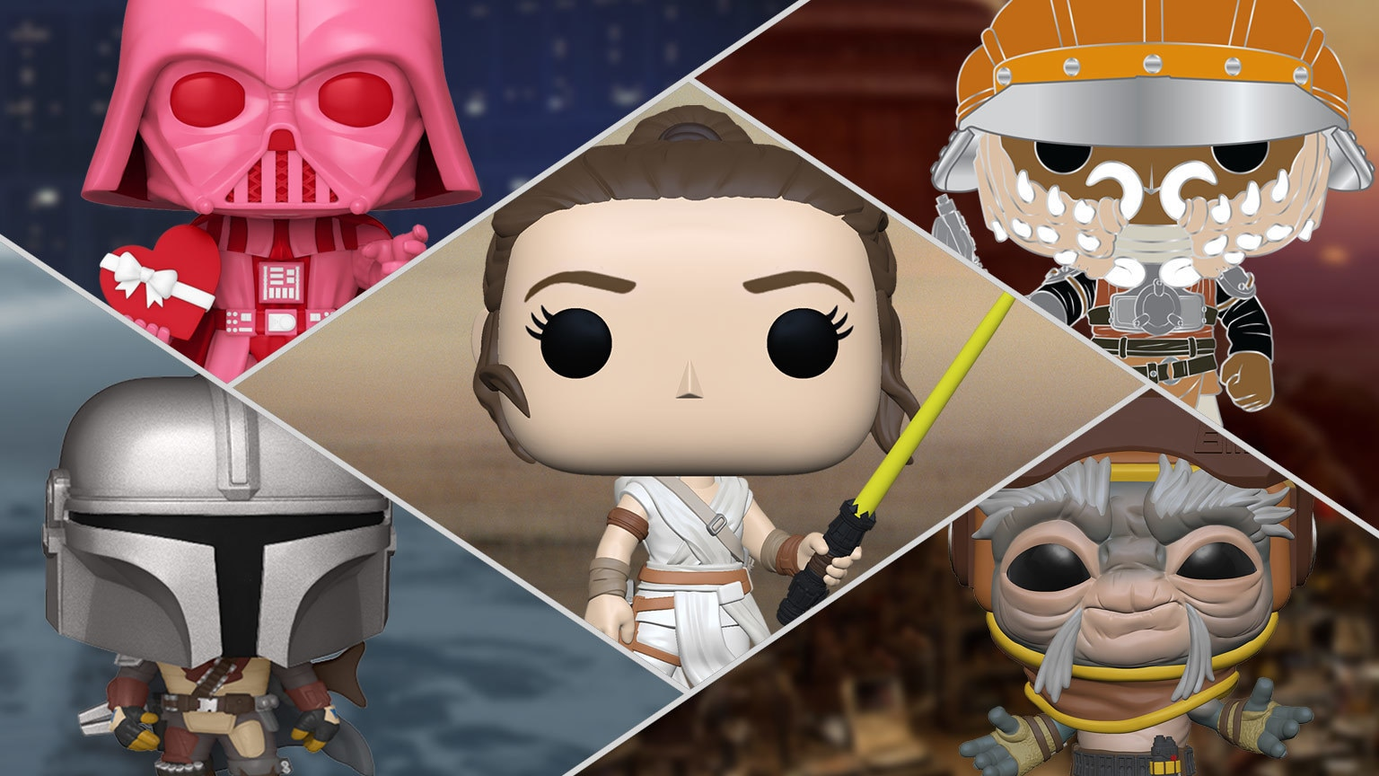 UPDATED: Get Your First Look at All the Star Wars Funko Fair Reveals