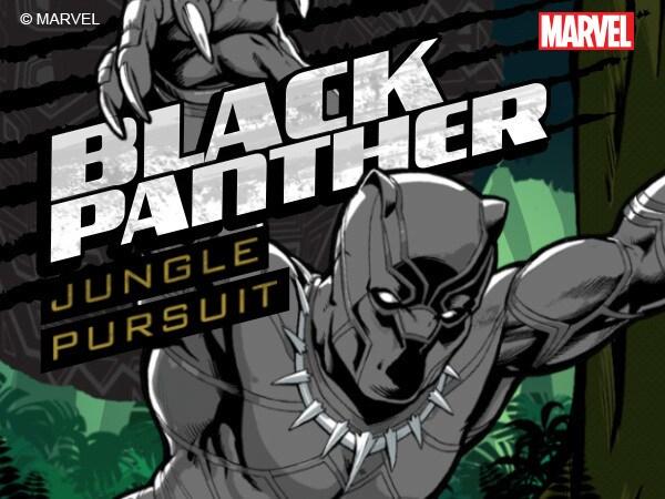 Pantera Negra: Persecución en la Selva