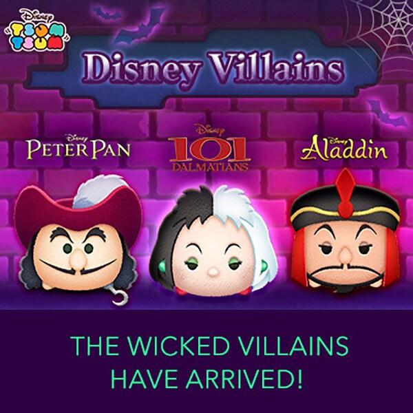 Disney Tsum Tsum - Disney Villains