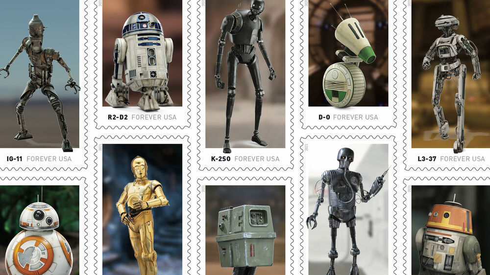 These Are the Star Wars Stamps You're Looking For